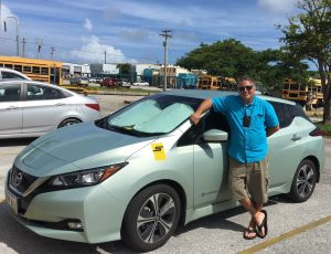Mr. Mortiz is a recipient of the Plug-in Electric Rebate Program and a proud owner of a PEV.